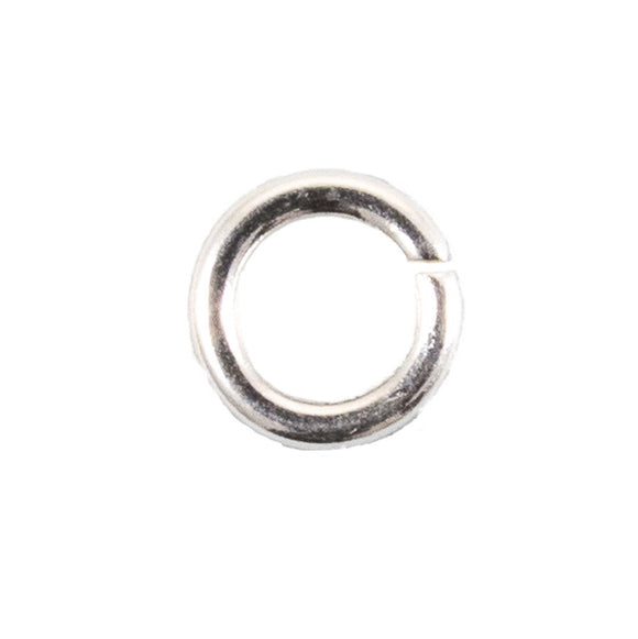 Sterling sil 5mm x 1mm jring SOLDERED50p