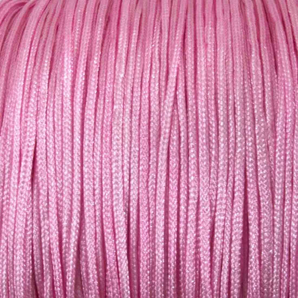 Cord .8mm baby pink 100mtrs