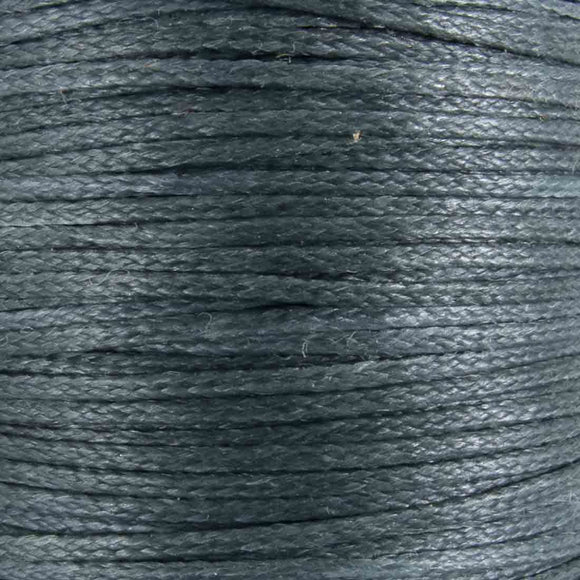Waxed 1mm cord bluestone 40metres