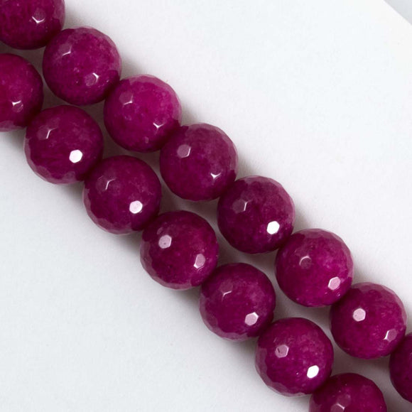 Semi prec 10mm rnd fact berry 38pcs