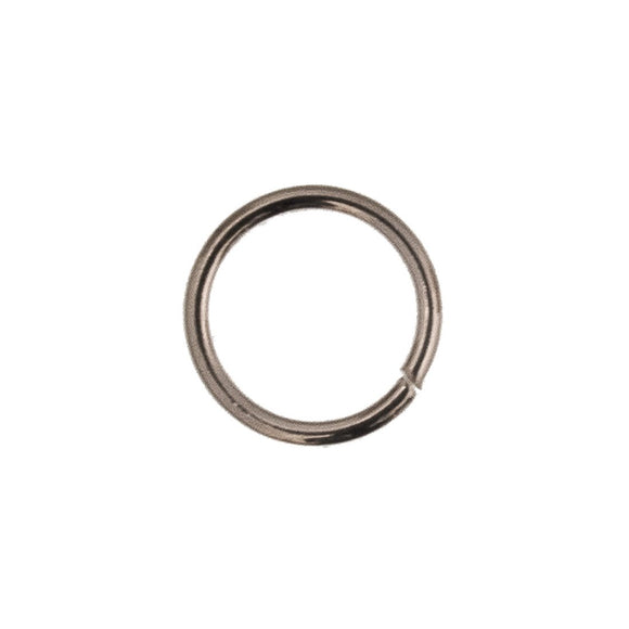 Sterling sil 8mmx1mm jump ring 4pcs