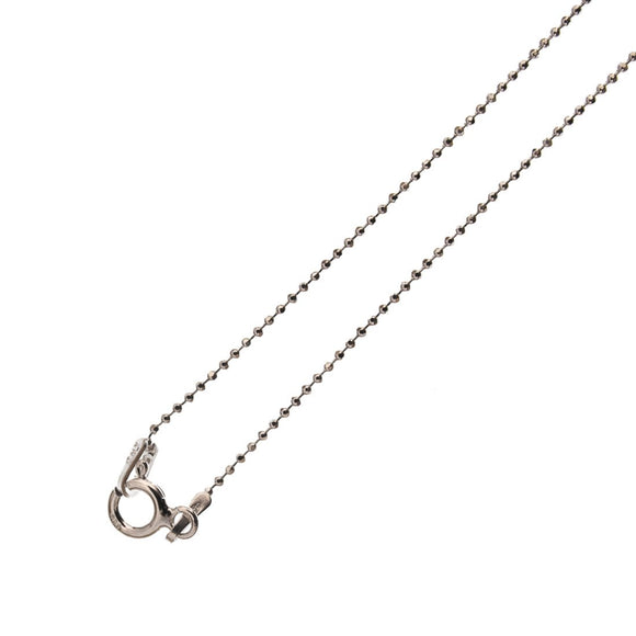 Sterling sil 1.3mm ball chain N/L 45cm