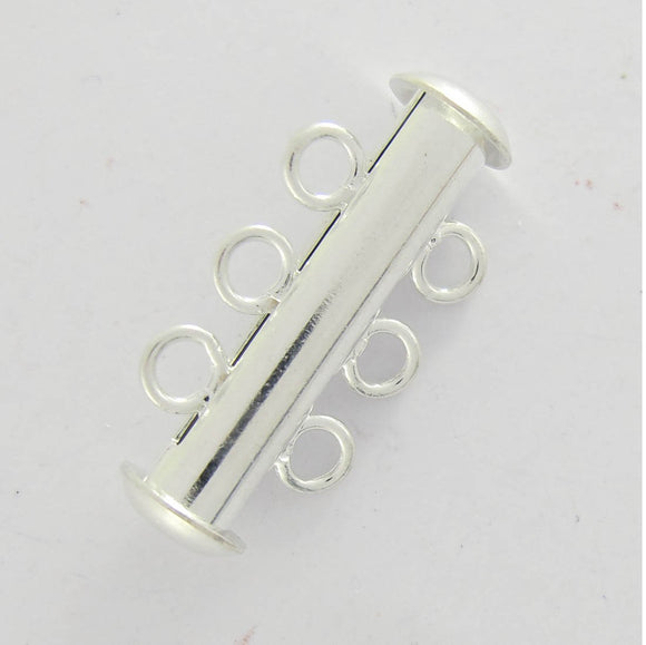 Metal 22MM 3row magnetic clasp SIL 3pcs