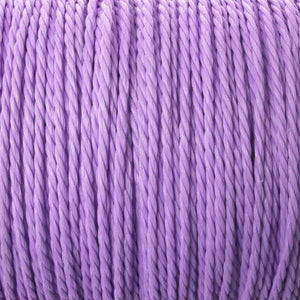 Cord 1mm twisted lavender 30mtrs