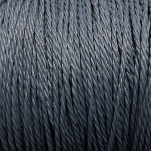 Cord 1mm twisted charcol 30mtrs