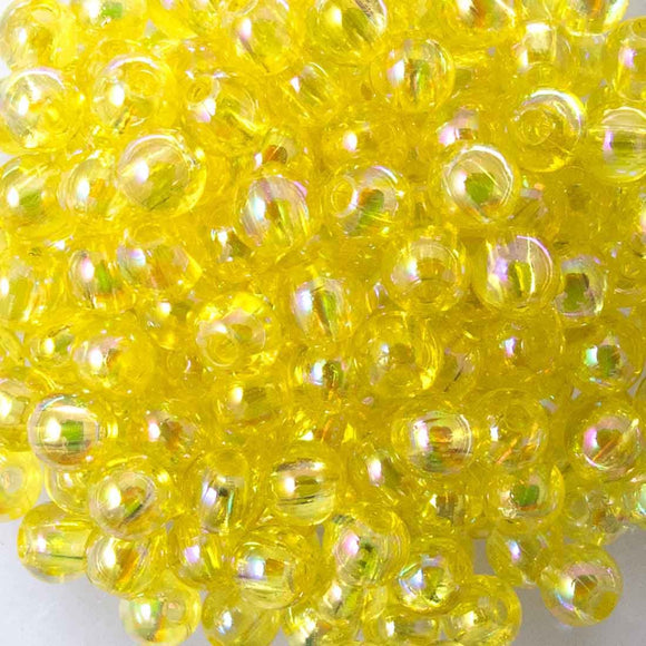 Plas 4mm rnd lemon AB20g/700pcs