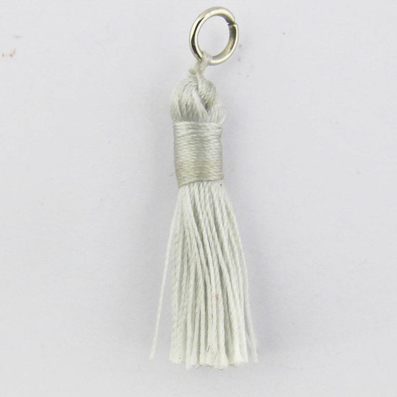 Thread 30mm Tassel ash 4pcs