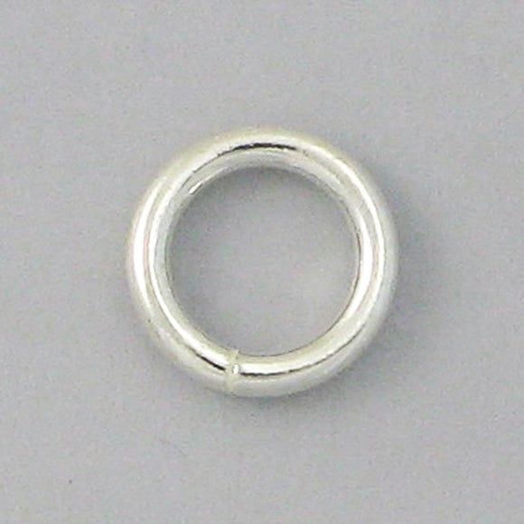 Sterling sil 6.5mm x 1.2mm SOLDERED 4p