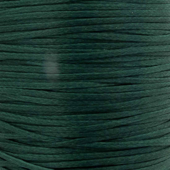 Waxed 1mm cord moss 40metres