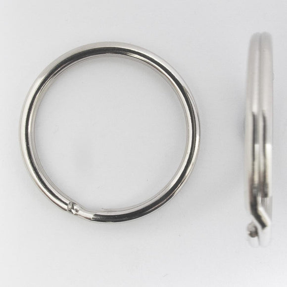 metal 30mm split rings NKL NF 10pcs