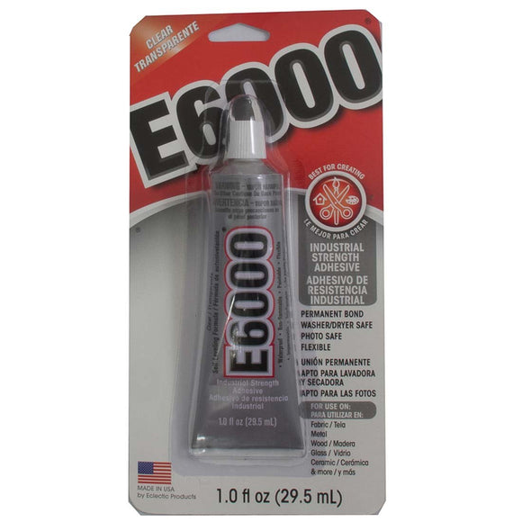 Glue E6000 2oz 59ml 1 tube