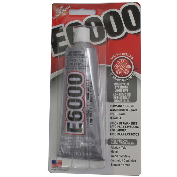 Glue E6000 3.7oz 109.4ml 1 tube