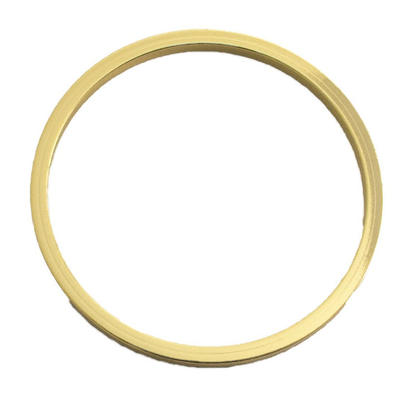 Metal 40mm ring NF gold 1pc