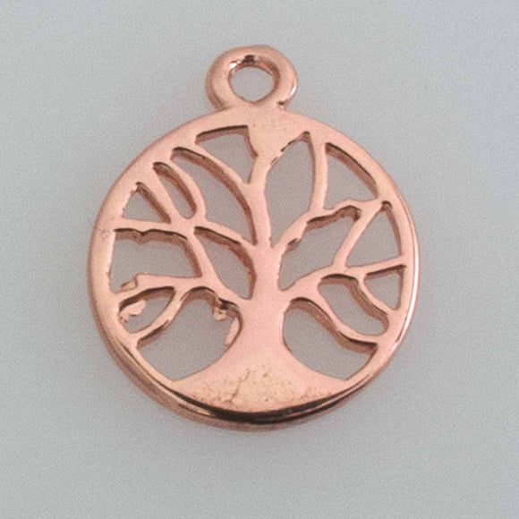 Metal 15mm tree of life pdnt NF R GLD 2p