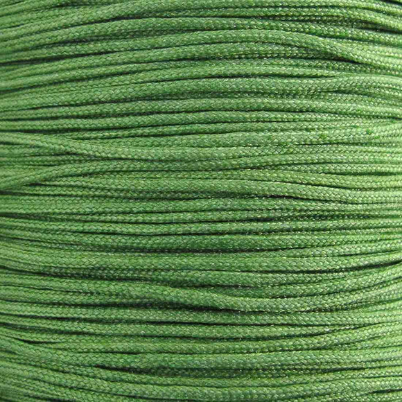 Cord 1mm rnd woven fern 40 metres