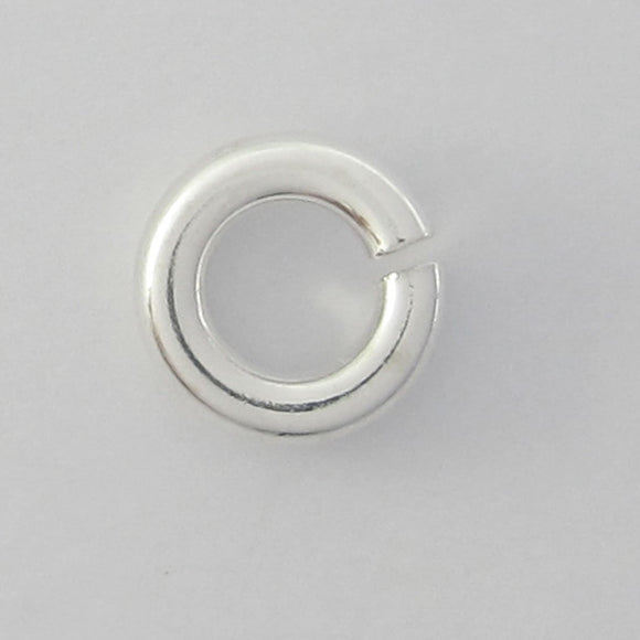 Sterling sil 5mm x 1.2mm jumpr ring 20pc