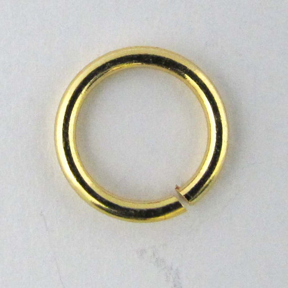 Metal 8x1mm jumpring NF GOLD 20 pcs