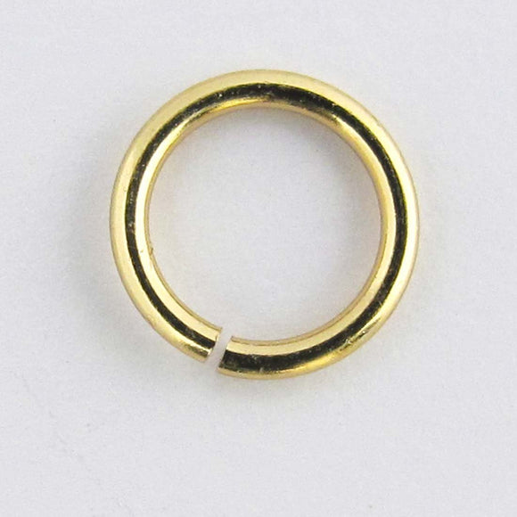 Metal 7x1.2mm jump NF gold 500pcs