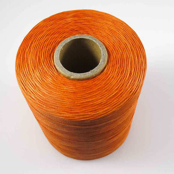 Waxed 1mm linen orange 350metres