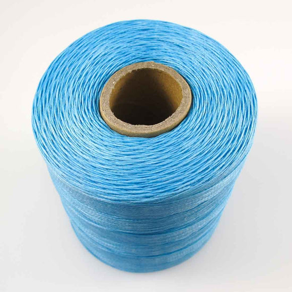 Waxed 1mm linen sky blue 350metres