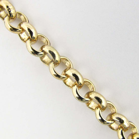 Metal chain 5.8mm belcher NF GLD 1mt
