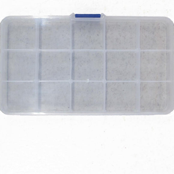 plas 175x100mm box 15 compartments