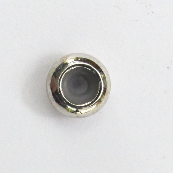 Metal 3x7mm washer silicon hole NF NICKEL 10p