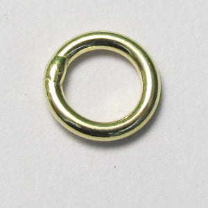 14k gold sterling sil 6mmx1mm SOLD 4pc