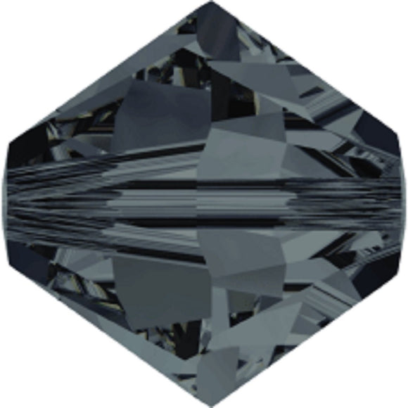 Swarovski 4mm 5328 graphite 40pcs