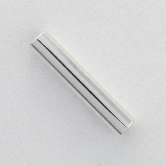 Metal 2x10mm tube NF SIL 40pcs