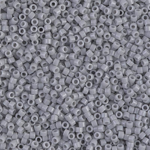 Delica Beads DB 1139 Opaque Gost Grey 5g