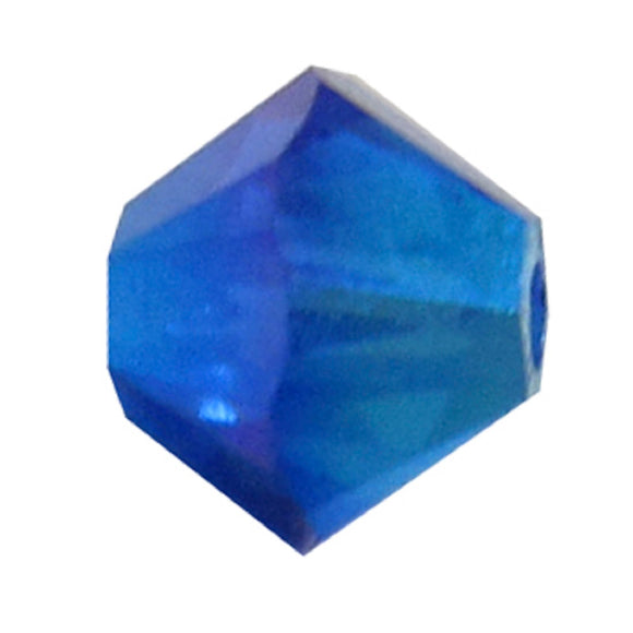 Swarovski 4mm 5328 Majestic blue ab2x 30p