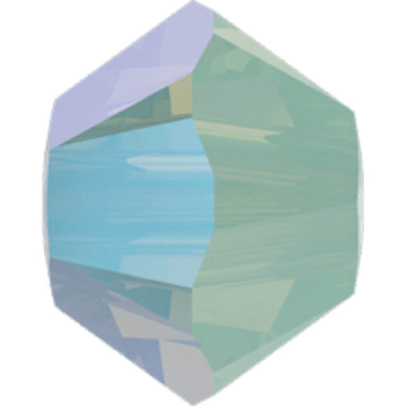 Swarovski 4mm 5328 chrysolite opal SHIM 30 pieces