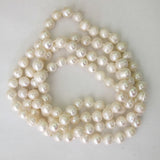 Semi prec 10mm rnd pearl LQ 120cm/108pcs