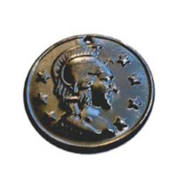 Metal 16mm coin head & 7stars blk 1440pc NFD