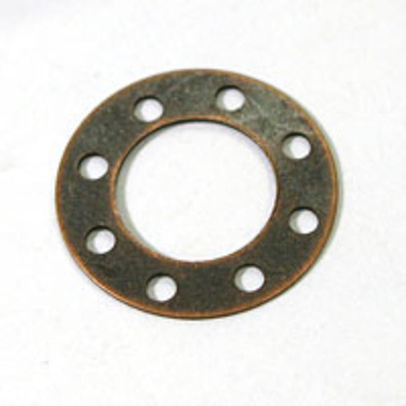 Metal 18mm rnd 8 hole shape Acop 50pcs