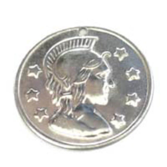 Metal 29mm coin head & 7stars sil 100p NFD