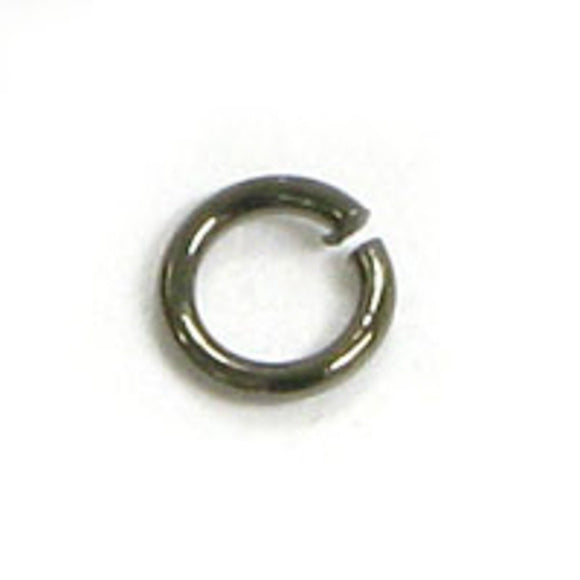 Metal 3x.5mm jumpring black 150pcs