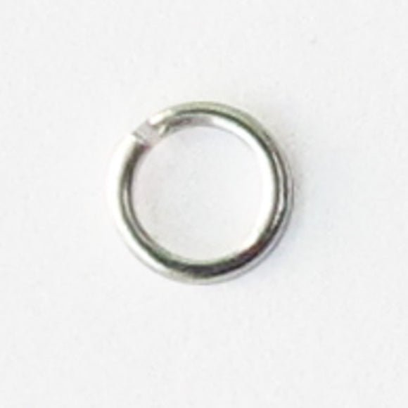 Metal 3x.5mm jumpring NF silver 250pcs