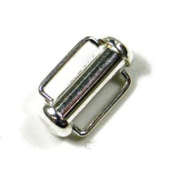 Sterling sil 16x5mm bar clasp 1