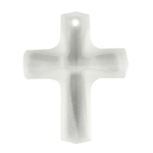 Swarovski 12x10mm 6860 cross crystal 2pc