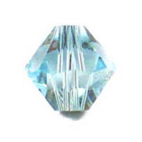 Swarovski 4mm 5328 aquamarine 40p