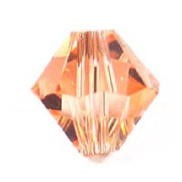 Swarovski 6mm 5328 light peach 20p