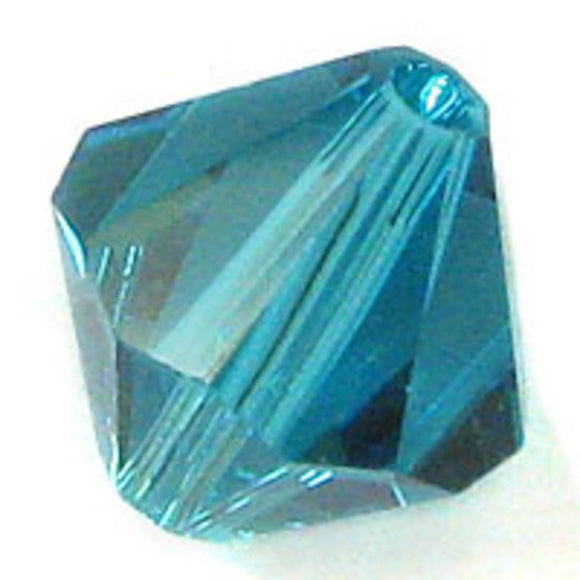 Swarovski 8mm 5328 blue zircon 10pcs