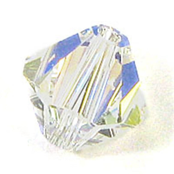 Swarovski 8mm 5328 crystal AB 10p