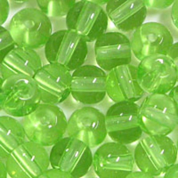 Cg 4mm rnd trns tiffany lime 81pcs