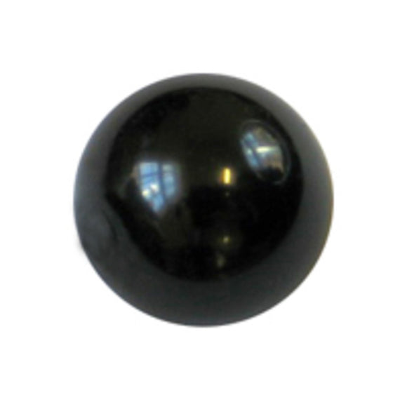 Cg 8mm rnd glass pearl black 110pcs