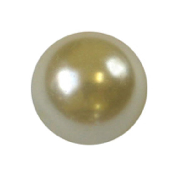 Cg 8mm rnd glass pearl cream 110pcs