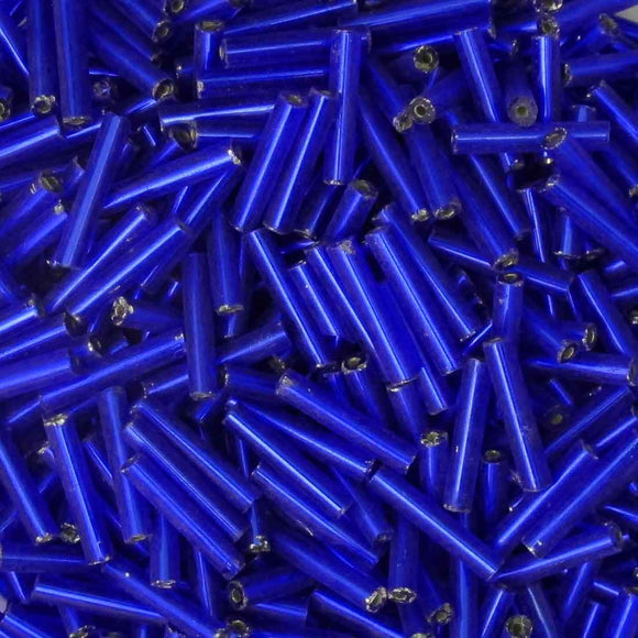 cz 12mm bugle s/lined mid blue 50g