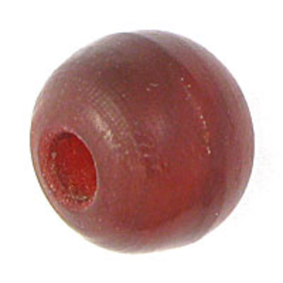 horn 8mm round red 20pcs